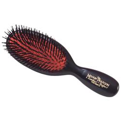 Pure Boar Bristle Pocket Brush Black